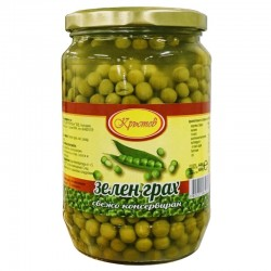 Krustev Green Peas 680 g.